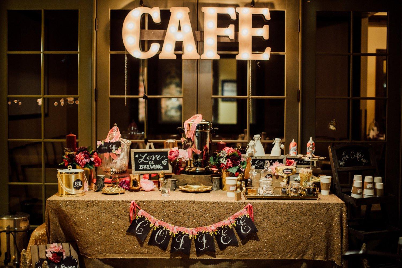 Hiring A Coffee Bar Is A Great Idea For Wedding Reception