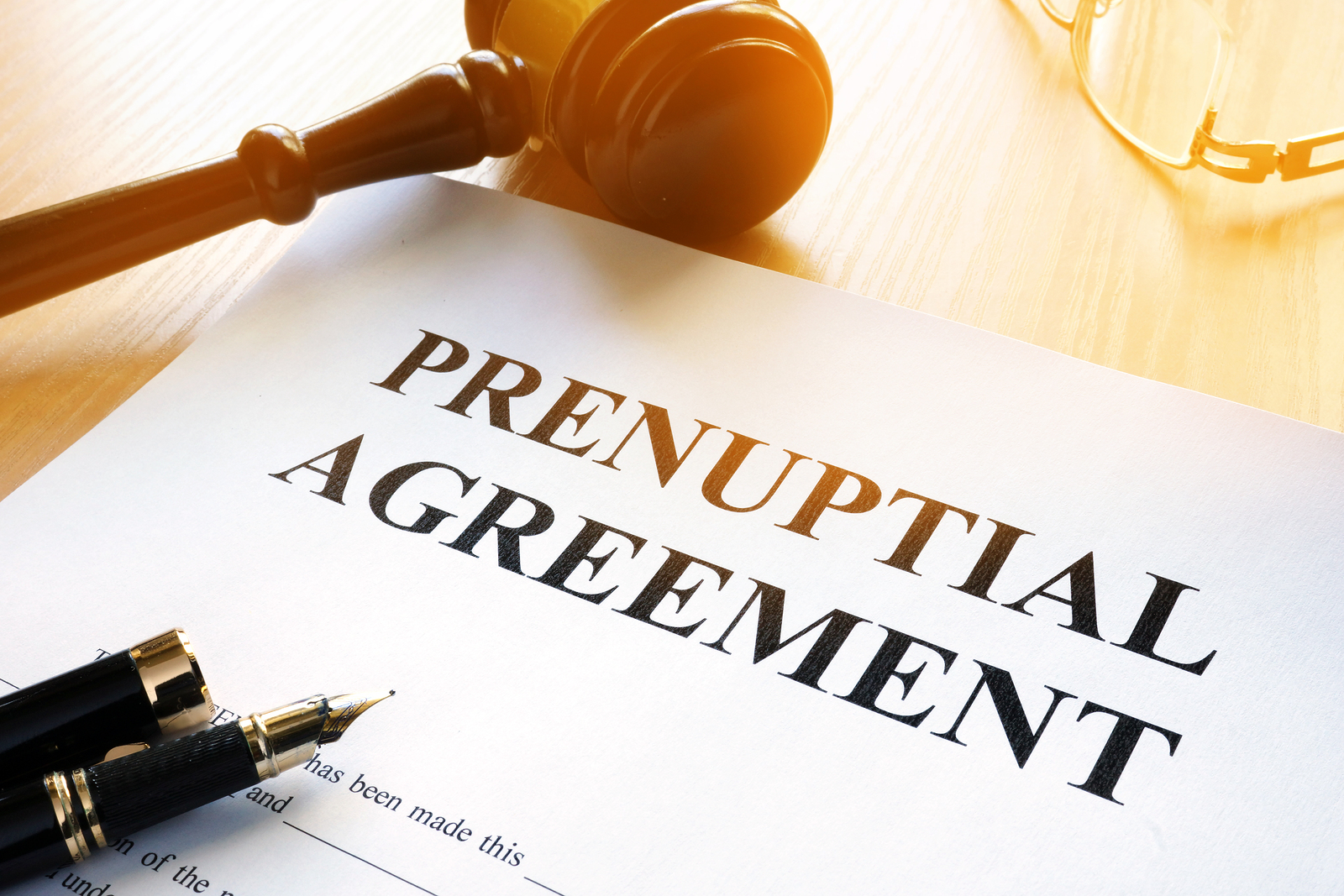 What Is The Prenuptial Agreement?